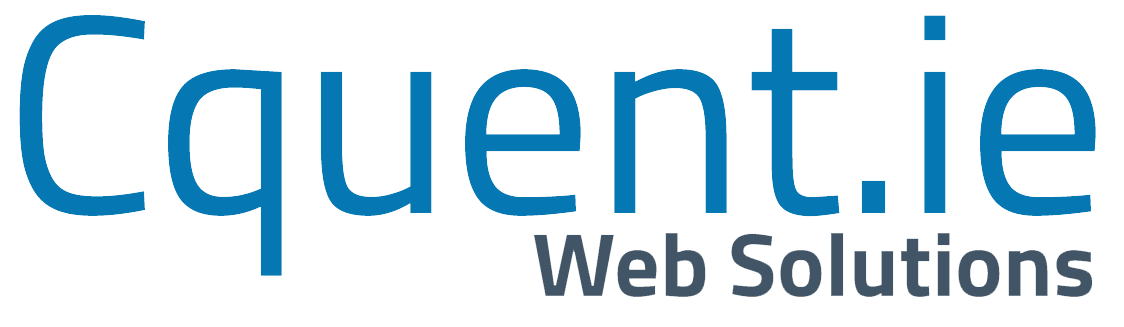 cquent.ie blue footer logo